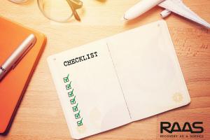Checklist para implementar uma solução de disaster recovery
